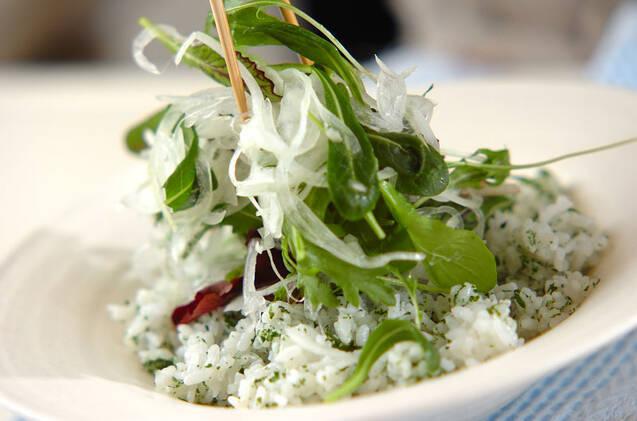 キハダマグロのイタリアン丼の作り方の手順7