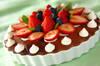 イチゴのパン・ド・ジェーヌの作り方の手順