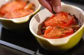 サンマのトマトグラタンの作り方8