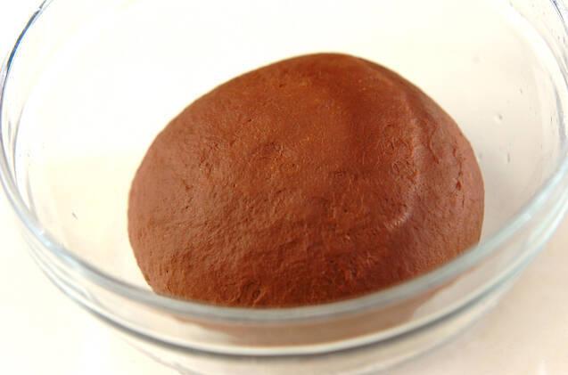 ダブルチョコアーモンドベーグルの作り方の手順6