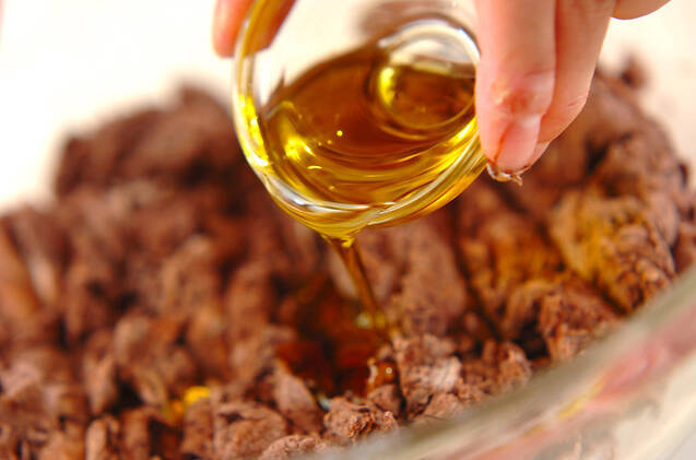 ダブルチョコアーモンドベーグルの作り方の手順5