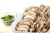 キノコ素麺汁の作り方の手順2