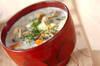 カキのミルクスープの作り方の手順