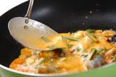 キムチのチヂミの作り方7