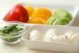 モッツァレラのサラダの作り方の手順1
