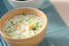 白菜のミルクスープの作り方の手順