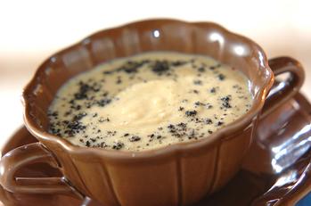 豆乳のゴマポタージュ