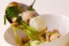 鶏肉・しょうゆ味のスープの作り方5