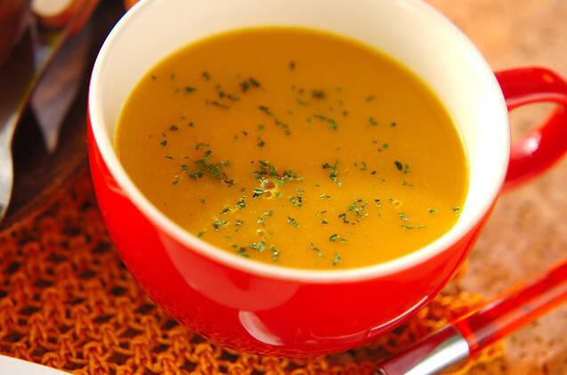 かぼちゃのスープの基本&人気レシピ5選。ミキサーなしでも ...