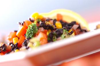 黒米サラダ