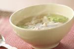 シメジのアジア風スープ