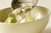シメジのアジア風スープの作り方3