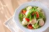 ホタテとグレープフルーツのサラダの作り方の手順