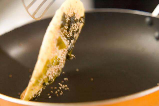 高菜焼きの作り方の手順4