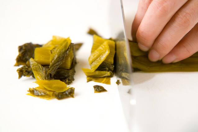 高菜焼きの作り方の手順1