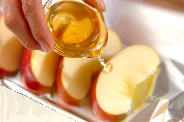 リンゴのホイル焼きの作り方の手順3
