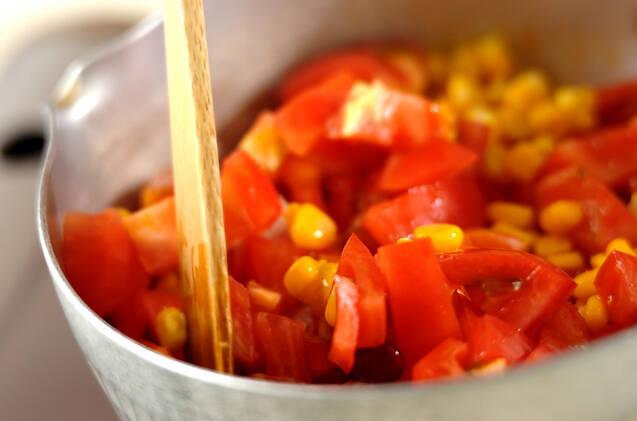 ビーンズのトマト煮の作り方の手順4