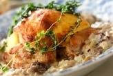 鶏オーブン焼/2種ソース