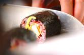 黒米巻き寿司の作り方9