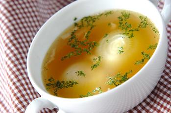 ペコロスのスープ