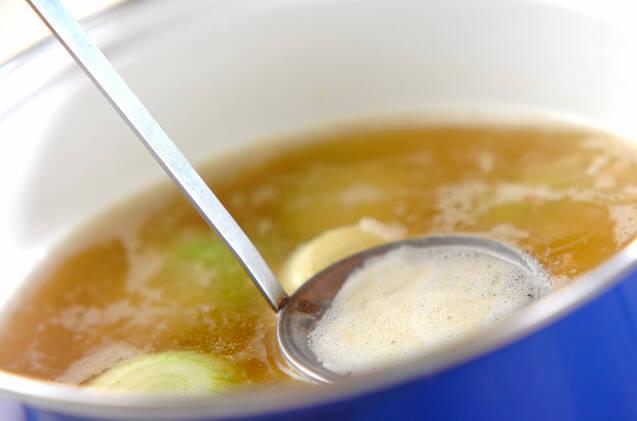 ペコロスのスープの作り方の手順4