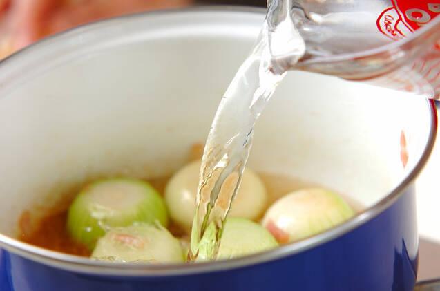 ペコロスのスープの作り方の手順3