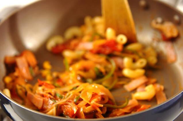 ケチャップマカロニサラダの作り方の手順3
