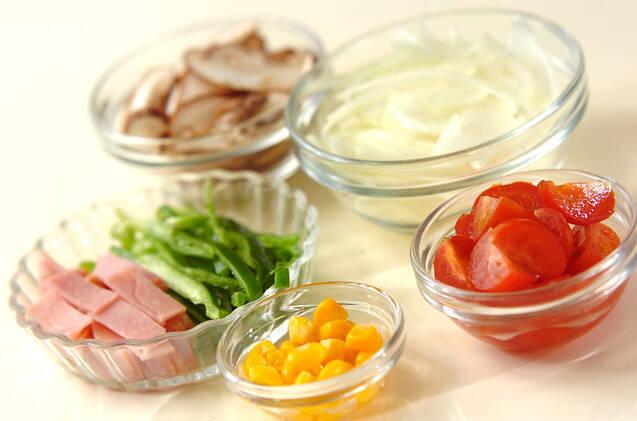 ケチャップマカロニサラダの作り方の手順1