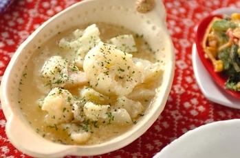 カリフラワーのスープ煮
