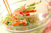 春雨の梅風味サラダの作り方6
