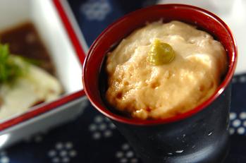 手作り白ゴマ豆腐