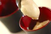 手作り白ゴマ豆腐の作り方4