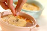 ふんわり卵のコンソメスープの作り方4
