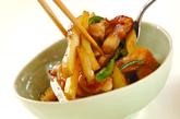 新ジャガイモと鶏肉の炒めものの作り方3