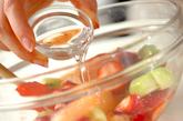 シュワシュワフルーツの作り方1