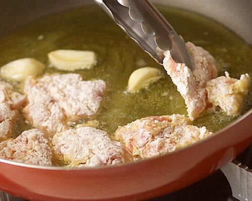 鶏肉のハニーソースの作り方の手順2