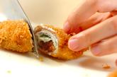 豚肉の梅おかかチーズ巻きフライの作り方2