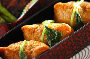 ヒジキご飯のいなり寿司