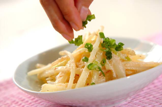 ジャガ明太炒めの作り方の手順3