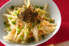ジャガ明太炒めの作り方の手順