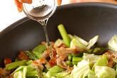 豚アスパラソース炒めの作り方3