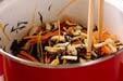 芽ヒジキと豆の煮物の作り方6