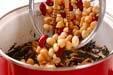 芽ヒジキと豆の煮物の作り方7