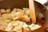 簡単リンゴケーキの作り方の手順2