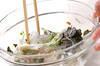 春雨と大和芋の和え物の作り方の手順6