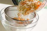 モヤシのレンジ和えの作り方1