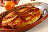 リンゴのパンケーキキャラメリゼの作り方6