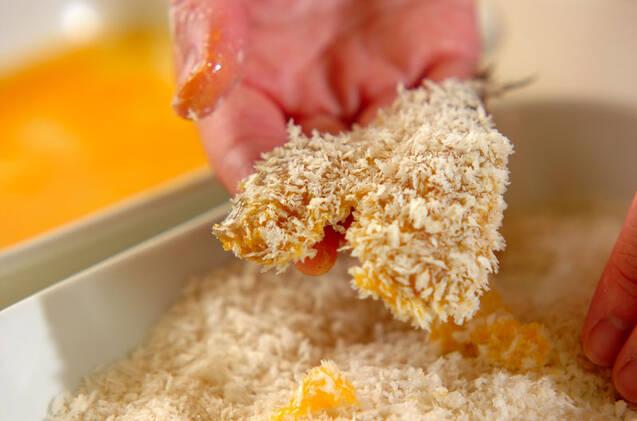 アジのフライ・梅肉ソースの作り方の手順6