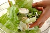 マッシュルームのサラダの作り方6