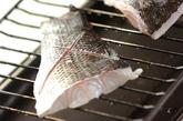 スズキの塩焼きおろし添えの作り方2